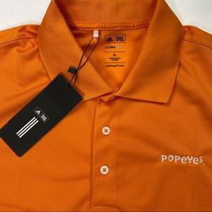 Popeyes Adidas Employee Polo ClimaLite